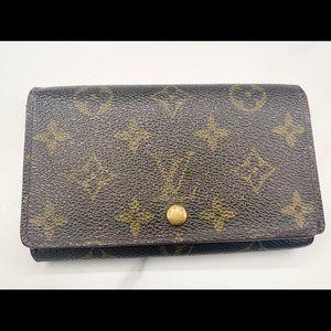 Louis Vuitton Porte Monet Wallet
